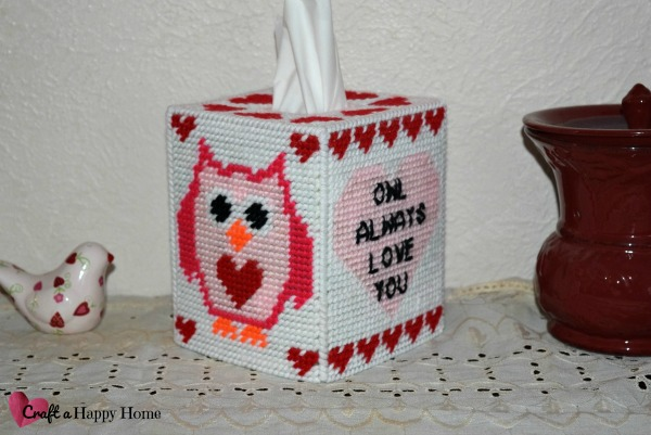 Owl Always Love You Tissue Box Cover