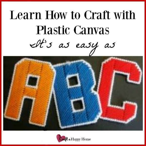 Want to learn to craft with plastic canvas? This plastic canvas how to guide can teach you the basics and have you creating in no time!
