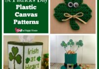 Looking for a simple craft to make for St. Patrick's day? Then be sure to check out this great list of St Patrick Day Plastic Canvas Patterns.